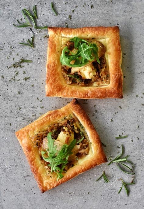 pear and ricott tart