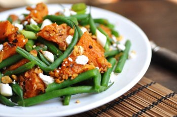Pumpkin and Beans Salad