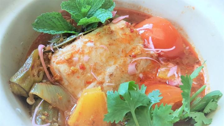 Assam Pedas fish