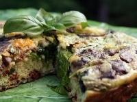spinach-portobello-mushroom-frittata