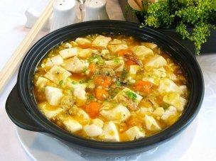 crabmeat tofu